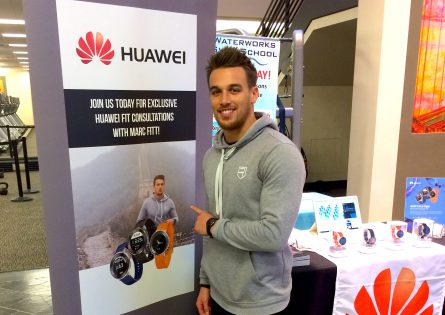 Marc Fitt becomes HUAWEI FIT new Ambassador