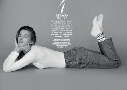 Mathilde Brandi for Harper's Bazaar España, January 2019