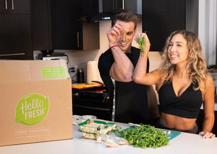 Cath Bastien shares cooking tips with Hello Fresh