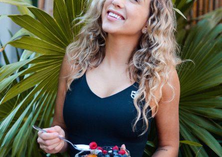 Cath Bastien enjoys Activia's Gut Health Retreat in Miami