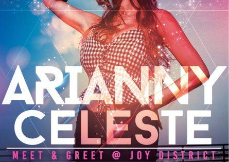 Arianny Celeste at Joy District Chicago