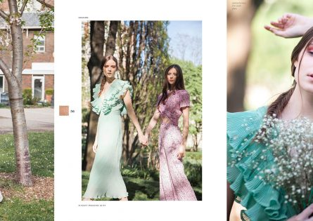 May Flowers editorial features Jess for Elegant Magazine