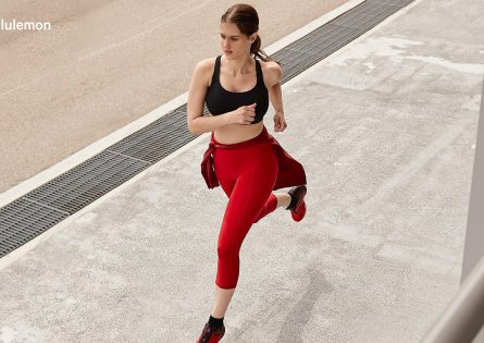 Anastasia for Lululemon's Web Campaign