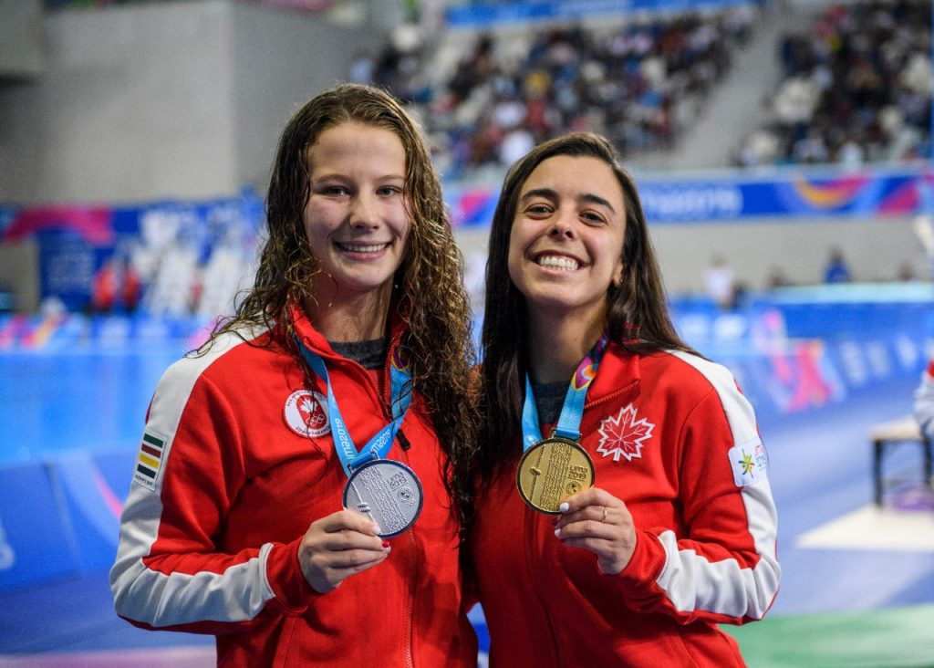 Caeli makes a splash at the Pan Am Games